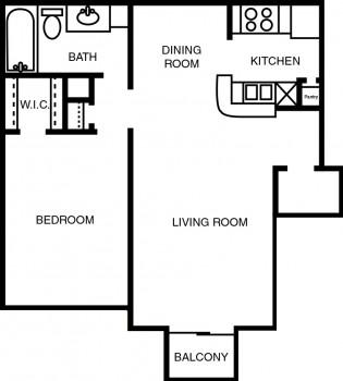 1 bedroom fp2